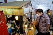 Blusukan ke Warkop Digital Bogor, Airlangga: UMKM Digital Kunci Pemulihan
