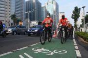Kampanyekan Bersepeda, Anies Usul Tempat Parkir Khusus hingga Insentif Pesepeda