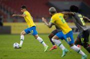 Neymar Antar Brasil Tumbangkan Ekuador