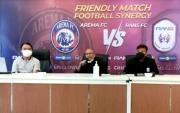 Hari Ini Rans Cilegon FC Jajal Kekuatan Arema di Laga Uji Coba