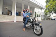 Mengejutkan, Motor BMW Klasik yang Dikendarai Ridwan Kamil dan AHY Dibeli dari Tukang Cukur