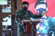 Panglima TNI Pimpin Apel Pasukan Penebalan Satgas Covid-19 di Kabupaten Blora