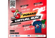 Peringati HUT Ke-75, Polisi Militer TNI AD Gelar POMAD Virtual Run 2021