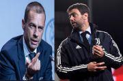 Presiden UEFA Kecewa Kena Kibul Agnelli