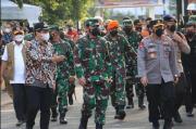 Panglima TNI Nilai Penanganan COVID-19 di Kota Pekalongan Berhasil