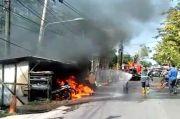 Kios Bensin Eceran Terbakar, 3 Warga Cikarang Luka Bakar