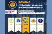 ITS Peringkat 3 Kampus Terbaik se-Indonesia versi THE Asia University Rankings
