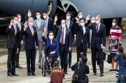 Tiga Senator AS Kunjungi Taiwan dengan Pesawat Militer, Media China: Provokasi Berisiko