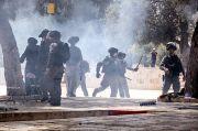Bentrokan Pecah di Depan Kantor Polisi Israel di Yerusalem