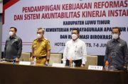 Kemenpan RB Dampingi Evaluasi RB dan SAKIP Pemkab Luwu Timur