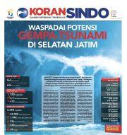 Waspadai Potensi Gempa-Tsunami di Selatan Jatim