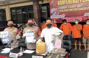 Gulung Sindikat Peredaran Narkoba, Polisi Sita 12 Kg Ganja di Jakarta Selatan