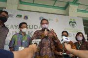 Berkunjung ke SVS, Airlangga Ingatkan Masyarakat Tetap Patuhi Protokol Kesehatan