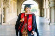 Maudy Ayunda Lulus S2 dari Stanford University dengan 2 Gelar