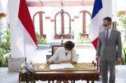 RI-Prancis Sepakat Kembangkan Kerjasama Maritim