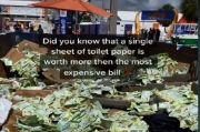 Viral, Uang Tunai Venezuela yang Berlimpah Dibuang ke Tempat Sampah