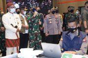 Ditinjau Panglima TNI, Serbuan Vaksinasi di Kota Bandung Diapresiasi Masyarakat