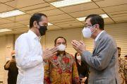 Presiden Jokowi Melayat ke Mendiang Istri Menkumham Yasonna Laoly