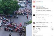 Viral! Penampakan Kerumunan Warga Mengantre Vaksin di Semarang