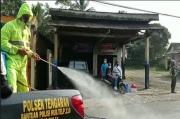 Cegah Penularan COVID-19, 4 Desa di Tengaran Disemprot Cairan Disinfektan