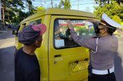 Polres Parepare Manfaatkan Angkot untuk Kampanye Protokol Kesehatan