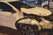 5 Kendaraan Tabrakan Beruntun di Jalan Pasar Kranggan, 4 Orang Luka Parah