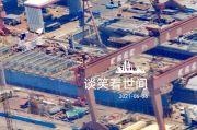 Foto-foto Bocor, Misteri Kapal Induk Type 003 China Mulai Terkuak