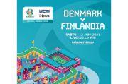 Susunan Pemain Denmark vs Finlandia