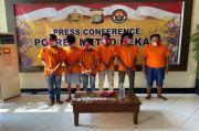 Palak Sopir Truk Marunda, 6 Preman Kampung di Bekasi Diringkus