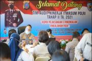 Tim Irtwasum Mabes Polri Audit Kinerja 4 Polres di Parapat