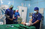 HUT Ke-75 Bhayangkara, Setukpa Lemdiklat Polri Gelar Operasi Bibir Sumbing Balita