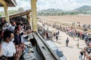 Sandiaga Uno Bakal Jadikan Pacuan Kuda Panda di Bima Sebagai Event Nasional