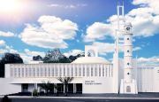 Mengenal Desain Unik Masjid Pendiri JNE di Bangka Belitung yang Terinspirasi Kabah