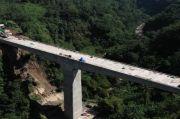 Ajib! Jembatan Setinggi 60 Meter Proyek Kereta Cepat Kelar Digarap