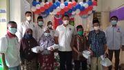 HUT Ke-6 Partai Perindo di Langkat, Santuni Lansia dan Anak Yatim Piatu