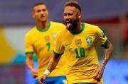 Neymar Dekati Rekor Pele Saat Brasil Lumat Venezuela