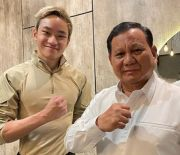 Bertemu Menhan Prabowo, Azka Corbuzier Diajak Masuk Militer