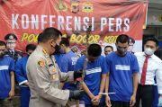 Bekuk 12 Pelaku Tawuran, Polisi Sita Kayu Dililit Kawat Besi