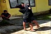 Muna Gempar, Beredar Video 2 Pelajar SMP Negeri 2 Raha Adu Jotos di Perumahan Kejari