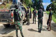 Pasukan Semut Hitam Yonif 512/QY Gencarkan Sweeping di Perbatasan Papua Nugini