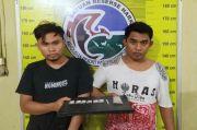 Digerebek di Kamar Kos, Ini Penampakan Dua Kurir Sabu Padangsidimpuan