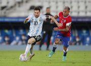 Babak I: Tendangan Bebas Messi Bawa Argentina Unggul atas Chile