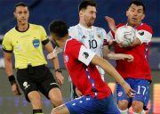 Hasil Copa America 2021: Gol Vargas Pupus Kemenangan Argentina