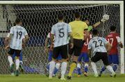 Argentina Ditahan Cile, Lionel Messi: Mimpi Buruk di Akhir