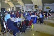 Bangun Kekebalan Komunal, Lanud Halim Perdanakusuma Gelar Vaksinasi Tahap II