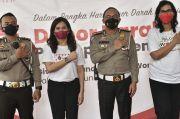 Perempuan Janggala bersama PMI dan Ditlantas Polda Metro Gelar Donor Darah