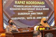 Forkopimda Jawa Timur Evaluasi Penerapan PPKM Mikro