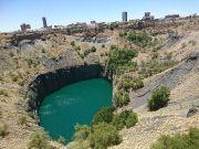 Lubang Besar Kimberley Mine Fakta Tanah Afrika Selatan Berceceran Berlian