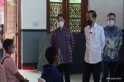 Vaksinasi di Stasiun Bogor, Jokowi Harap Penumpang KRL Terlindungi Covid-19