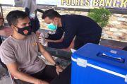 Ratusan Personel dan Bhayangkari Polres Bangka Tengah Terima Vaksin COVID-19 Tahap Dua